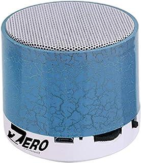 Zero Z101 Smart Colorful LED Light Mini Wireless Bluetooth Speaker Portable Stereo Support USB / TF / SD Card - Blue