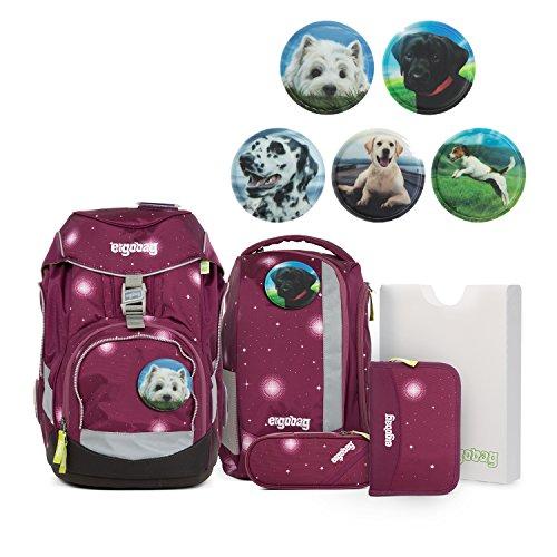 Ergobag Pack Galaxy Edition FeenzauBär Schulrucksack Set 6tlg. verschiedene Kletties