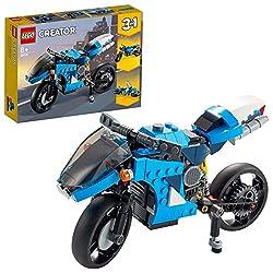 Features3modelsin1:amodernmotorbike,aclassicmotorcycleandafuturistichoverbiketotaketothesky,forasoloorteamplay TheSuperbikefeaturesmovinghandlebars,aworkingsuspensionandakickstand,tostagesuper-fastracesaroundt...
