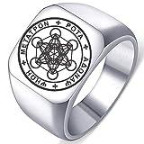 Seal of Archangel Metatron Cube Mens...