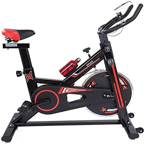 LLKK Mute Trainer Bicicleta Spinning Bike Computer y Elíptica Avanzada con Entrenamiento Cross Trainer Bicicleta Ejercicio para Home Gym Entrenamiento Cardio Entrenamiento