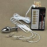 Z-one 1 Catetere urhral shock elettrico con anelli massaggianti BalA.ᾑus Massaggiatore Parti intime Dịlaṭὄr A.dulṭ F.lịrṭịng (Con accessori host)