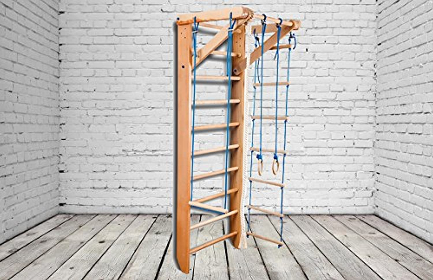 Reliable and robusta Construction  Indoor Wooden Playground Sport02220 Swedish Ladder Gymnastic sportcomplex
