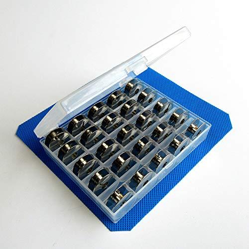 25 Stück W/Box Metallspulen für Pfaff Select 2.0 2.2 3.0 3.2 4.0 4.2 +