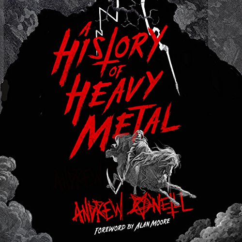 A History of Heavy Metal audiobook cover art