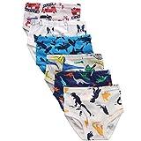 benetia Boys Underwear Toddler Kids Briefs 4t 3t Cotton 6 -Pack White
