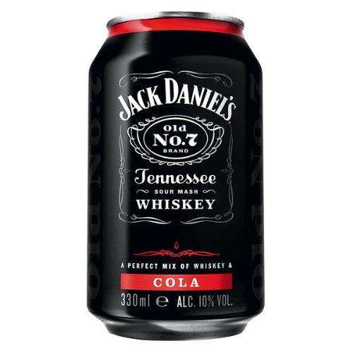 24 Dosen a Jack Daniels Daniel´s & Cola a 0,33L 10% Vol. Dose inc. 6.00€ EINWEG Pfand