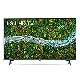 "LG 43UP77006LB Smart TV LED 4K Ultra HD 43"" 2021 con Processore Quad Core 4K, Wi-Fi, webOS 6.0, FILMMAKER MODE, Game Optimizer, Google Assistant e Alexa Integrati, Telecomando Puntatore"