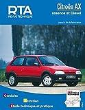 E.T.A.I - Revue Technique Automobile 100.1 - CITROEN AX - 1986 à 1998
