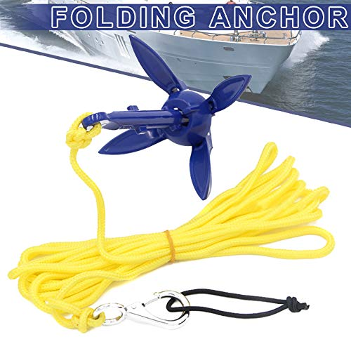 Felixe Protable Boat Anchors/Folding Anchor,Fishing Accessories for Kayak,Canoe Boat,Marine Sailboat,Watercraft