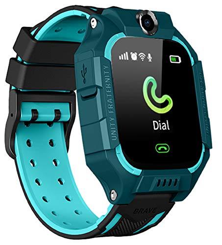 N3 ZELEK Reloj Inteligente para Niños con Cámara Reloj de Pulsera a Prueba de Agua Reloj Inteligente de Seguimiento Niños Llamada SOS Pantalla Táctil Chat Niños Regalo Juguetes de Aprendizaje