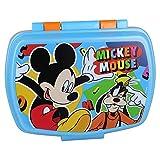Contenitore Portapranzo Porta merenda Scatola Sandwich Box per Bambini Mickey Mouse Topolino
