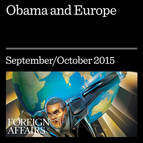 Obama and Europe audiobook cover art