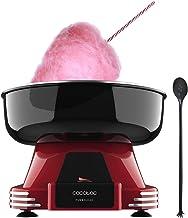 Cecotec Machine à barbe à papa Fun&Sugar. 500 W, Plat pivotant en acier inoxydable, Complètement démontable, Inclus cuillè...