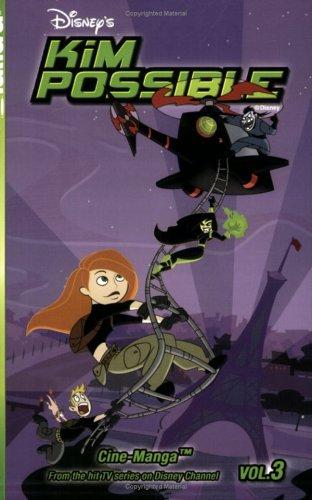 Kim Possible Cine-Manga Volume 3: The New Ron & Mind Games