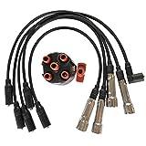 Naliovker Ignition Cable Distributor Cap MúLtiple Soporte R Asiento para Golf 3 Passat 35I Vento 1H0998031