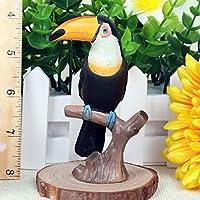 環境に優しい生き生きとした耐久性のある素敵で繊細なスタイリング動物モデル、安全な野生動物モデルのおもちゃ、家の装飾用のパズルのおもちゃプラスチックの模擬おもちゃ