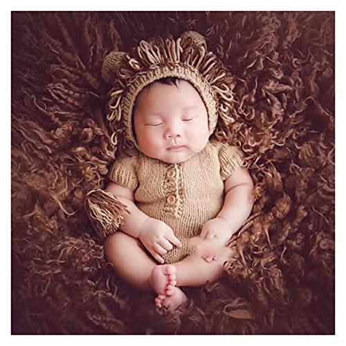A+TTXH+L Accesorios de fotografía de bebé Sombrero de Tejer bebé recién Nacido Props Props GOCHET BEBÉ SOMBROS BEBÉ Productos APORTAS Muchacha/Muchacho Ropa de niño Recién Nacido Trajes de Ganchillo
