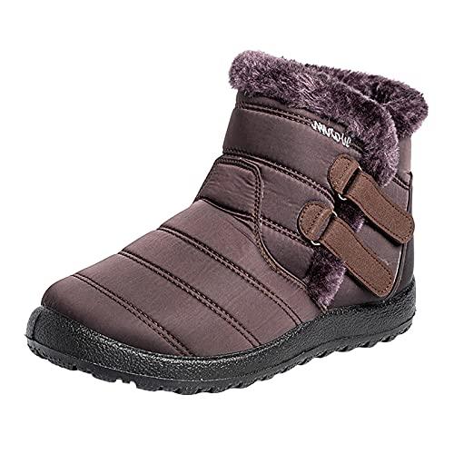 Caixunkun Winter Shoes Women's Lined Boots Women's Chelsea Boots Women's Ankle Boots Women's Winter Shoes Ankle Boots Black Rubber Boots Lined Women's Snow Boots Women's Winter Shoes Waterproof Lined