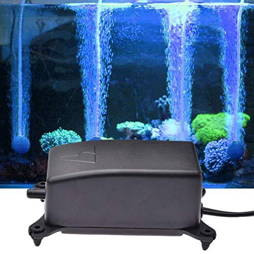 Fancylande Luftpumpe für Sauerstoff Fische, elektromagnetische Luftpumpe, Sehr leise, Aquarium-Pumpe