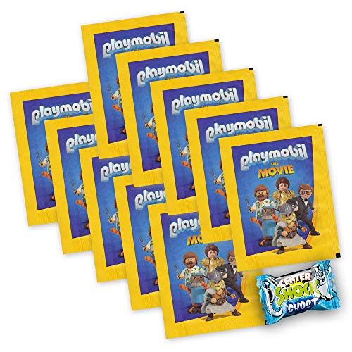 Playmobil Der Film 2019 - Sammelbilder 10 Booster 50 Sticker + Center Shock