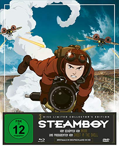 Steamboy - Limited Collector's Edtion (Blu-ray + 2 DVDs)