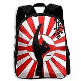HOJJP Mochila escolar School Season Kids Backpack Bookbag,Child Karate Kyokushin Shoulder Bag