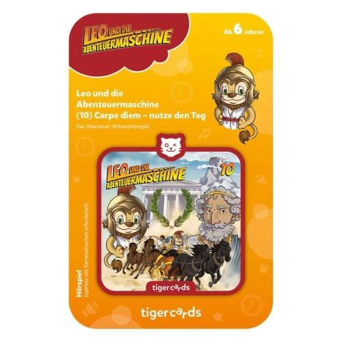 tigermedia 4407 tigercard-Leo und die Abenteuermaschine-Folge 10: Carpe Diem – nutze den Tag, Bunt