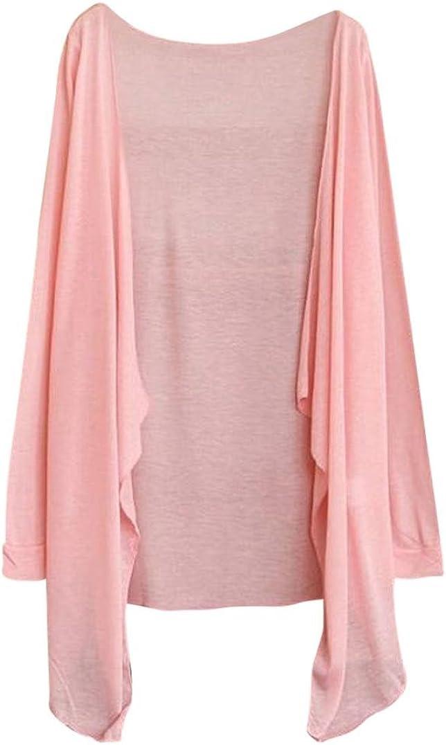 Salute Women Long Thin Cardigan Modal Sun Protection Clothing Tops