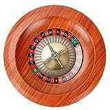 ISAKEN Ruleta Rusa De Madera, Juego De Ruleta Rusa De 12 Pulgadas Entretenimiento De Escritorio Tocadiscos Juegos De Mesa De Ocio, para Juegos En Casa