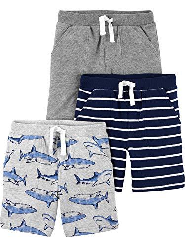 Simple Joys by Carter's Pantalones Cortos de Punto Bebé-Niños