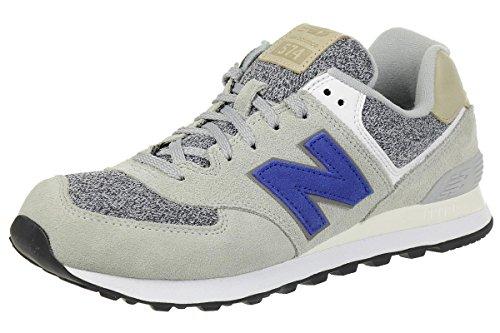 New Balance New Balance, Herren Sneaker, Silber (Silver), 42 EU (8 UK)