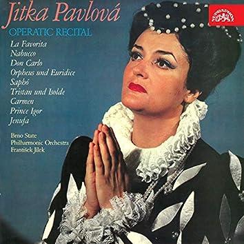 Jitka Pavlová - Operní recital