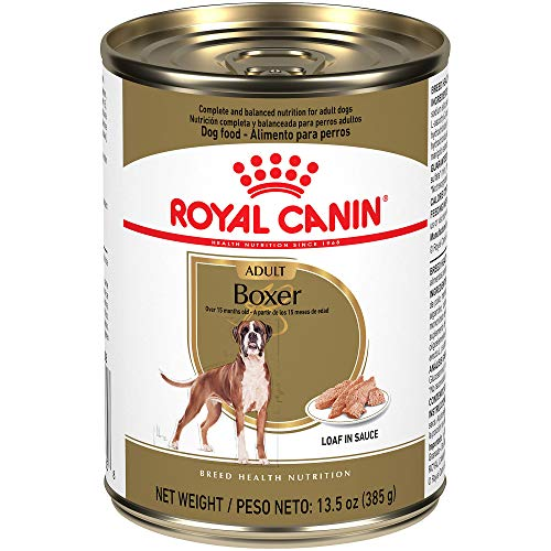 Royal Canin Breed Health Nutrition Boxer Loaf in Sauce food