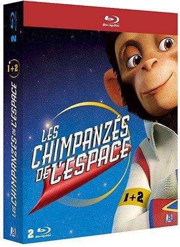 Coffret les chimpanzes dans l'espace : les chimpanzes dans l'espace 1 ; les chimpanzes dans l'espace 2