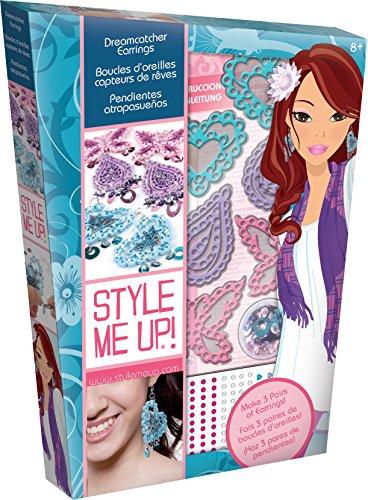 Buki France Style me up! - 716 - Loisir Créatif - Perles et Bijoux - Boucle d'oreille - Capteurs de Rêves