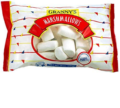 Granny's White Full Size Marshmallows 10oz , (2 Pack) Kosher, Gluten Free