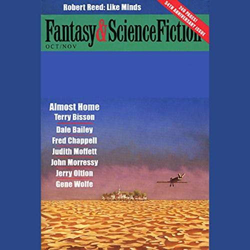 The Best of Fantasy and Science Fiction Magazine cover art