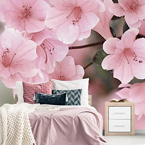 Sakura Flowers Overseas parallel import regular item Wallpapper. Removable Peel Wallpaper. St Shipping included