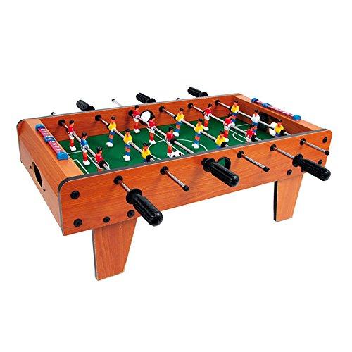Small Foot 2019747 6702 Tischfußball aus Holz, Kicker-Tisch kann auf jeder Tischplatte platziert werden, ab 5 Jahre