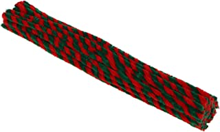 Limpadores de cachimbo Amosfun 50 peças de hastes de chenille, limpadores de cachimbo com glitter para crianças, arte cria...