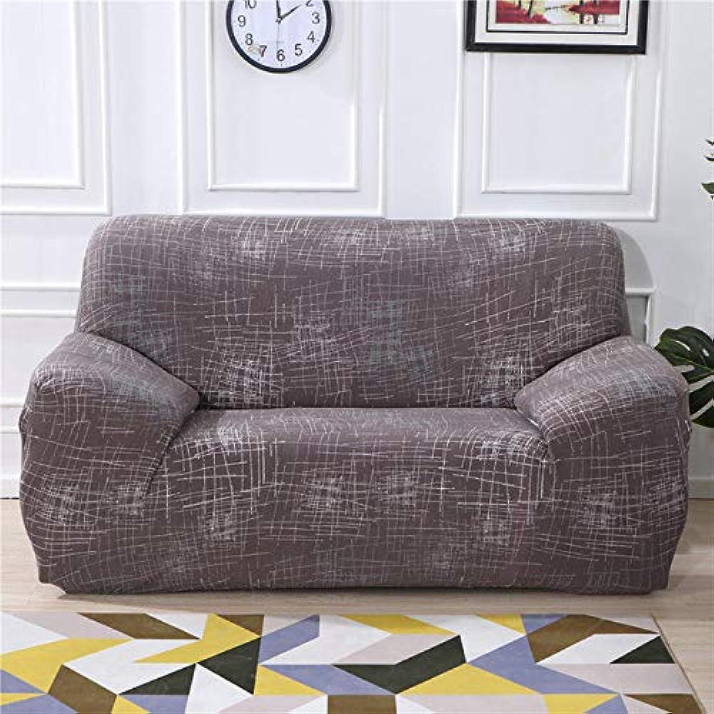 Elastic Sofa Cover Set for Living Room Sofa Towel Slip-Resistant Sofa Covers for Pets Strech Sofa Slipcover   colour9, 2-Seater 145-185cm