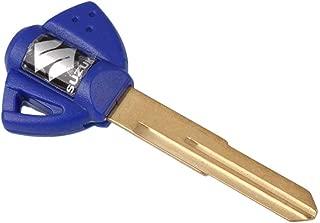 Energy power shop Motorcycle Blank Key Uncut Blade Suzuki GSXR 600 750 1000 GSX1300R GSF 650 Blue