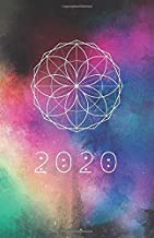 2020: Sacred Geometry Planner | For Men & Women | Galaxy Artwork Design | Agenda Book | Universe Creation Art Cover| with journal pages