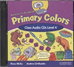 American English Primary Colors 4 Class Audio CDs (Primary Colours)