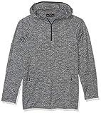 Peak Velocity Jersey de Punto Jaquard Athletic-Shirts, Negro, US XL (EU XL - XXL)