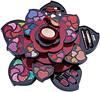Dinilandai Flower Shape Big Ladies Make Up kit 67-Piece