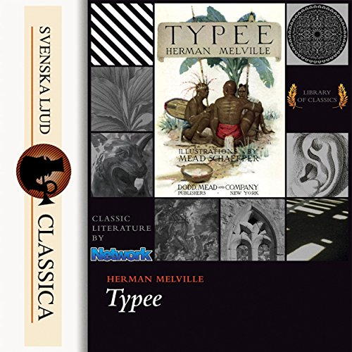 Typee audiobook cover art