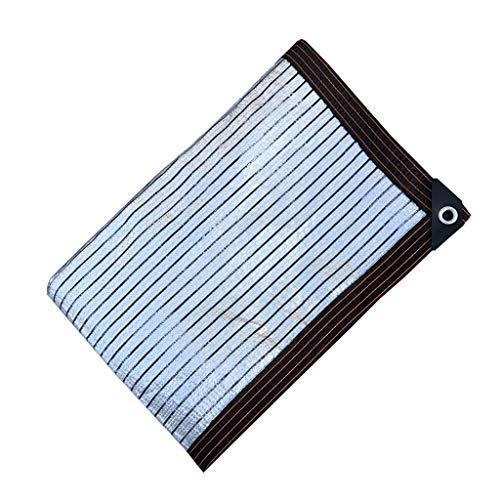 Schattennetz Balkon Beschattung und Wärmeisolierung Netz, Balkon und Innenhof im Freien Dachlicht Wärmedämmung Shading Netz Kanten, multifunktionale Sonnenschutz-Plane schattennetz für gewächshaus
