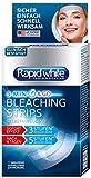 Rapid White Express Bleaching Strips, 14 Bleaching Sachets, für weißere Zähne in nur 4 Tagen, sichtbare Zahnaufhellung für Zuhause, ohne Wasserstoffperoxid
